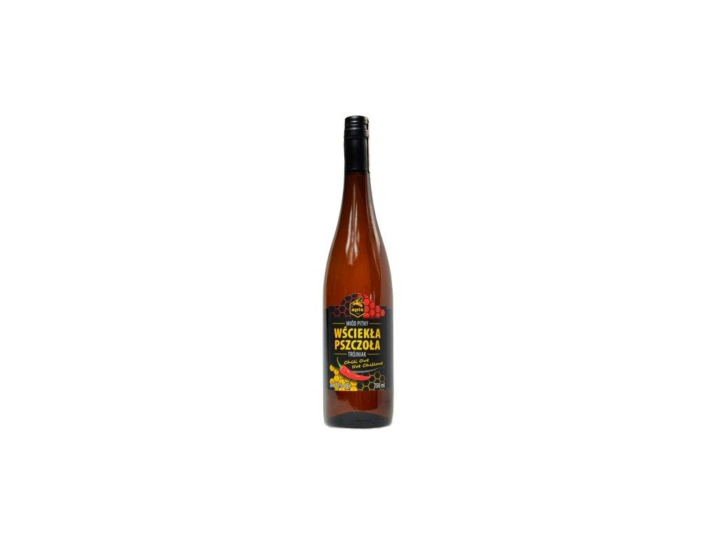 Apis - Wściekła Pszczoła - Miód pitny trójniak (Angry bee) - 0.75 l  glass