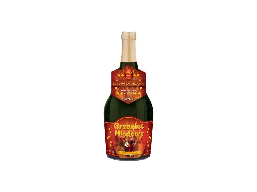 Apis - Grzaniec miodowy - Miód pitny trójniak - 0.75 l  glass