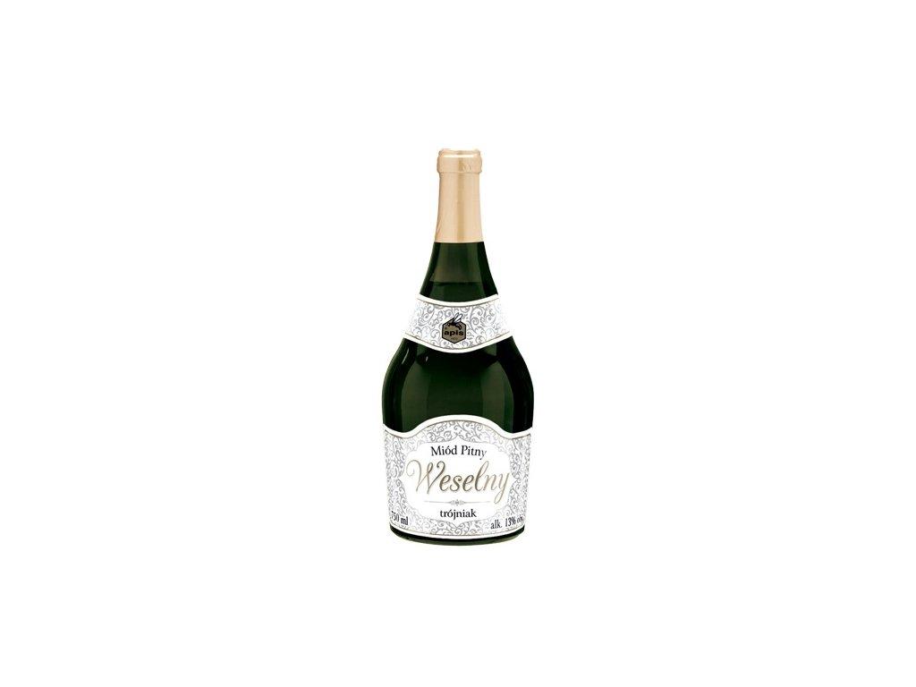 Apis - Weselny - Miód pitny trójniak (festive) - 0.75 l  glass