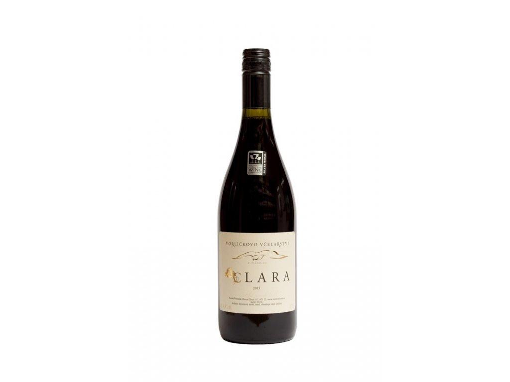 Vorlickovo vcelarstvi - Clara (red wine grapes) - 0.75 l