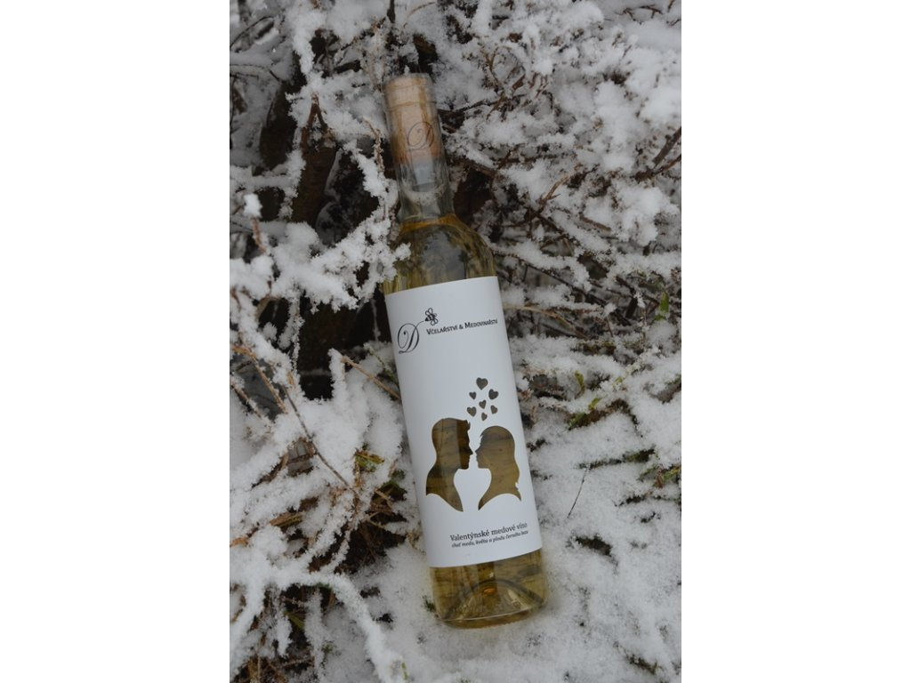 Radomir Dvorak - Valentine's honey wine (special edition) - 0.5 l  glass