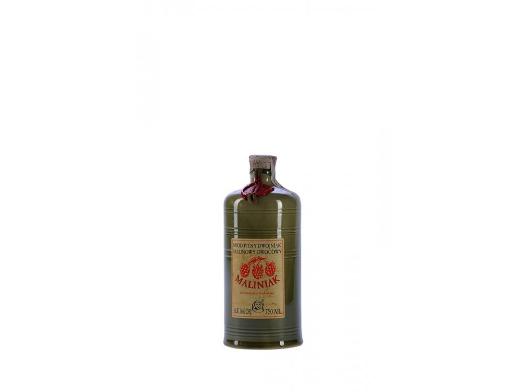 Pasieka Jaros - Miód pitny Dwójniak - Maliniak - 0.75 l  ceramic