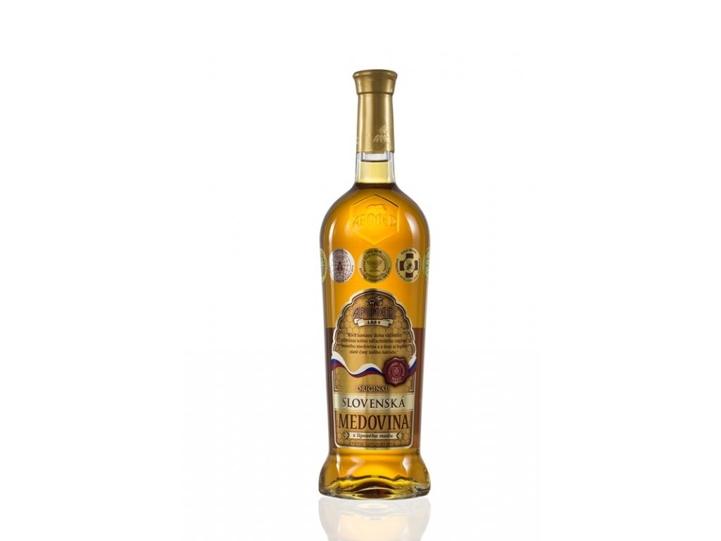 Apimed - Original Slovak mead - 0.75 l  glass