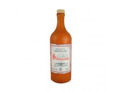 Apis - Staropolski - miód pitny dwójniak - 0.75l  ceramic