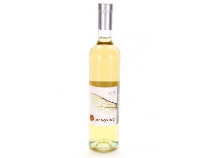 Medovino - Medovíno Zázvor - Citronová tráva (Mead wine Ginger - Lemon Grass) - 0.5 l