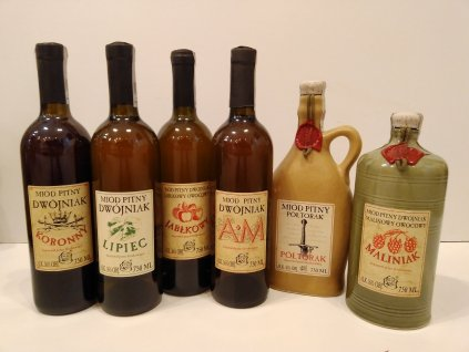 Pasieka Jaros - Special Collection of Polish Mead 2020 (6pcs)