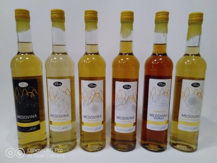 Pleva - Collection of varietal honey mead + 1 limited edition (6 ks)