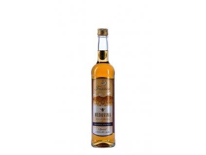 Třasoňovi Beekeeping - Mead special - from oak barrel (Serbian oak) - 0.5 l  glass