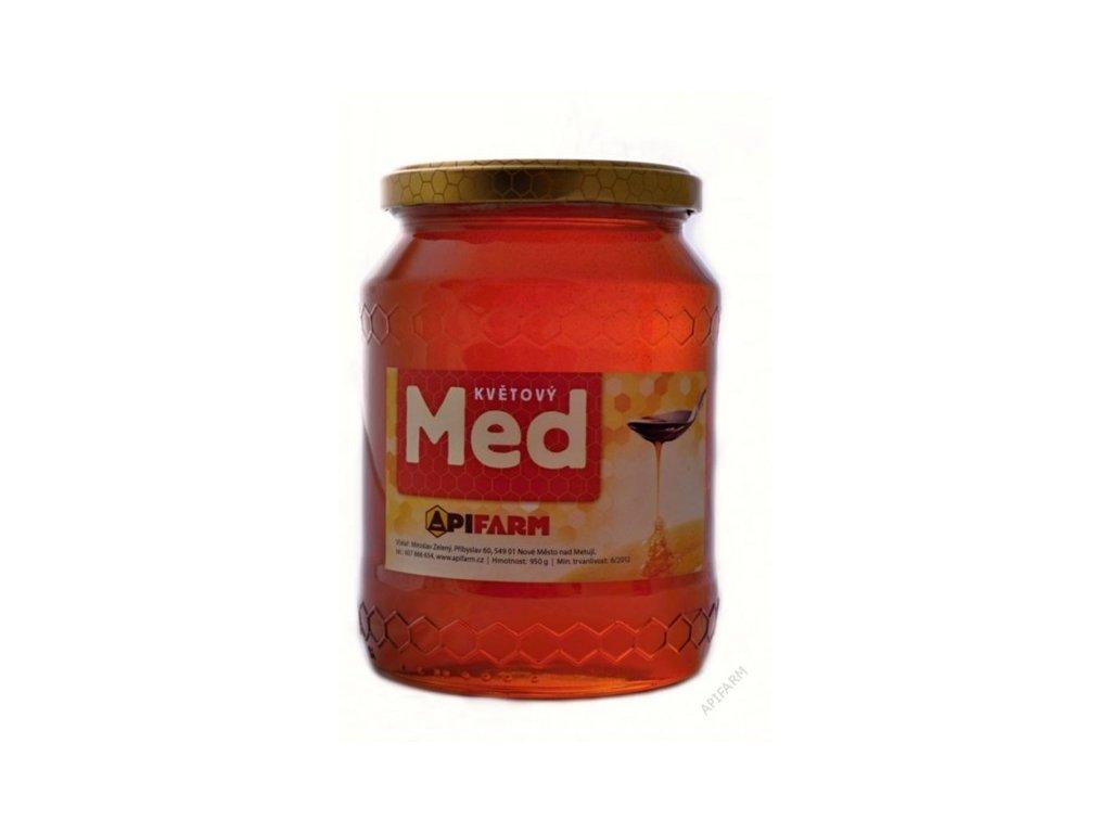 Apifarm - Med květový - lesní  0,45kg