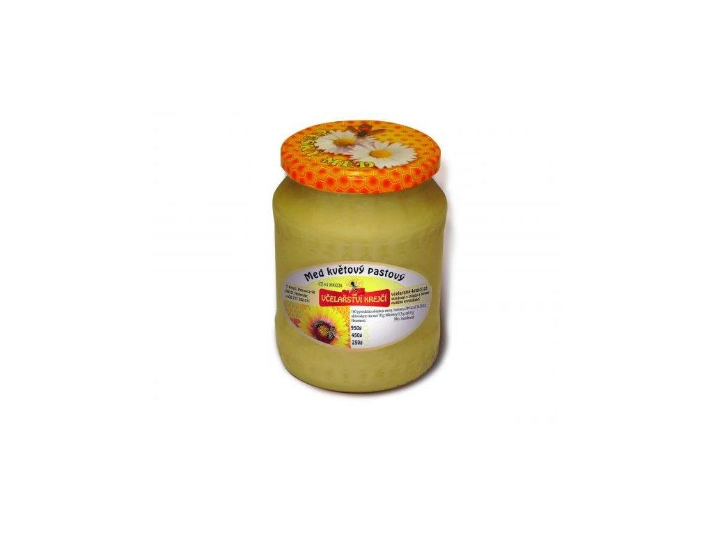 Včelařství Krejčí - Med květový pastový - 0,95 kg