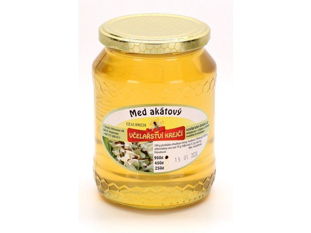 Včelařství Krejčí - Med akátový - 0,95 kg