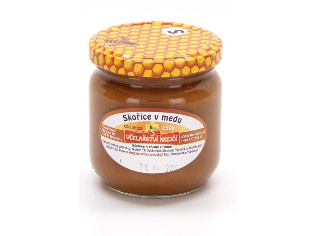 Včelařství Krejčí - Skořice v medu - 0,25kg