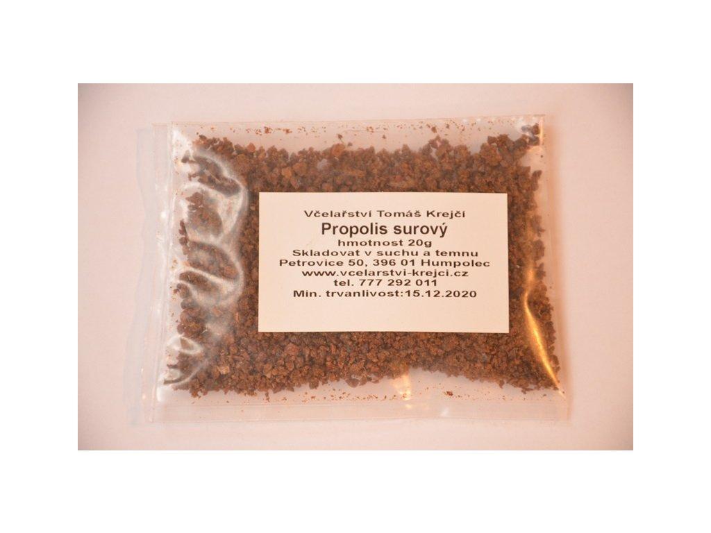 Včelařství Krejčí - Propolis surový - 0,20kg  0,20kg