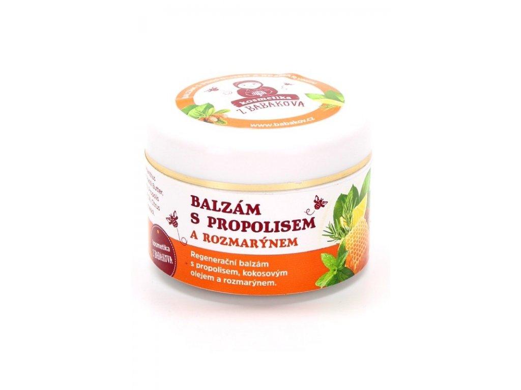 Včelařství Babákov - Balzám s propolisem a rozmarýnem - 0,05 l