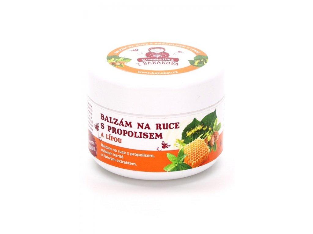 Včelařství Babákov - Balzám na ruce s propolisem a lípou - 0,1 l