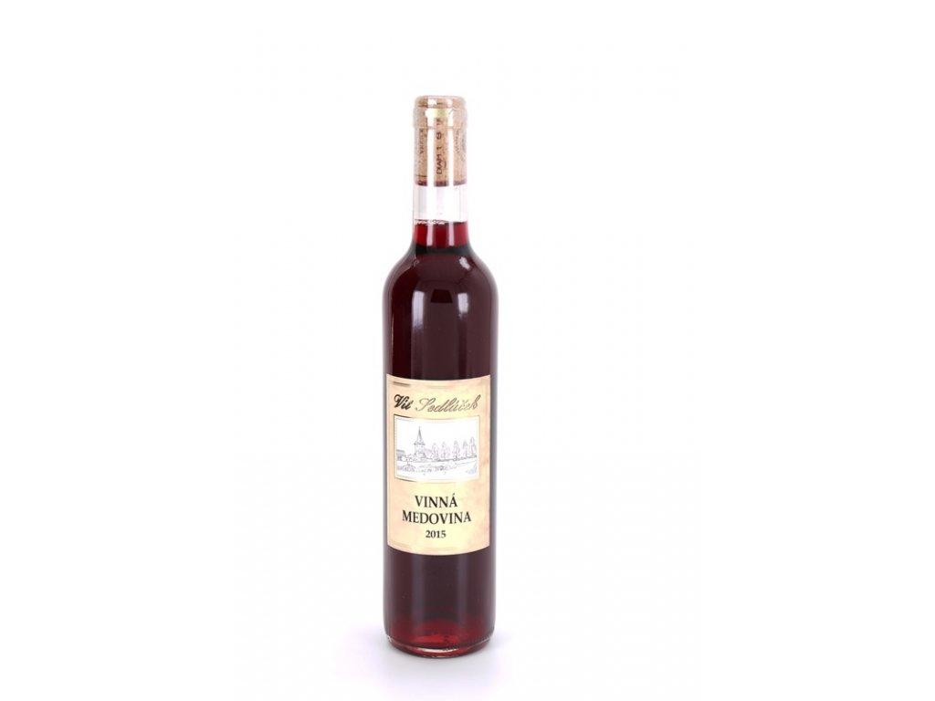 Vinařství Vít Sedláček - Vinná medovina - červená - 0,50l