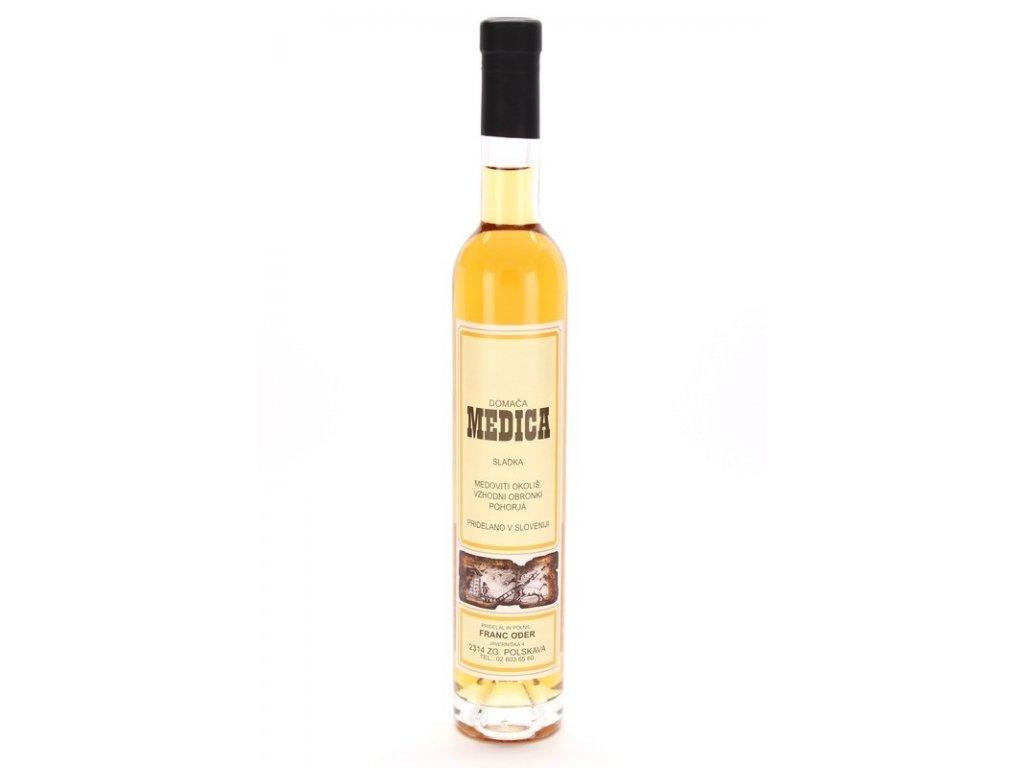 Čebelarstvo Oder - Medovina z kaštanového medu - sladká  0,37l