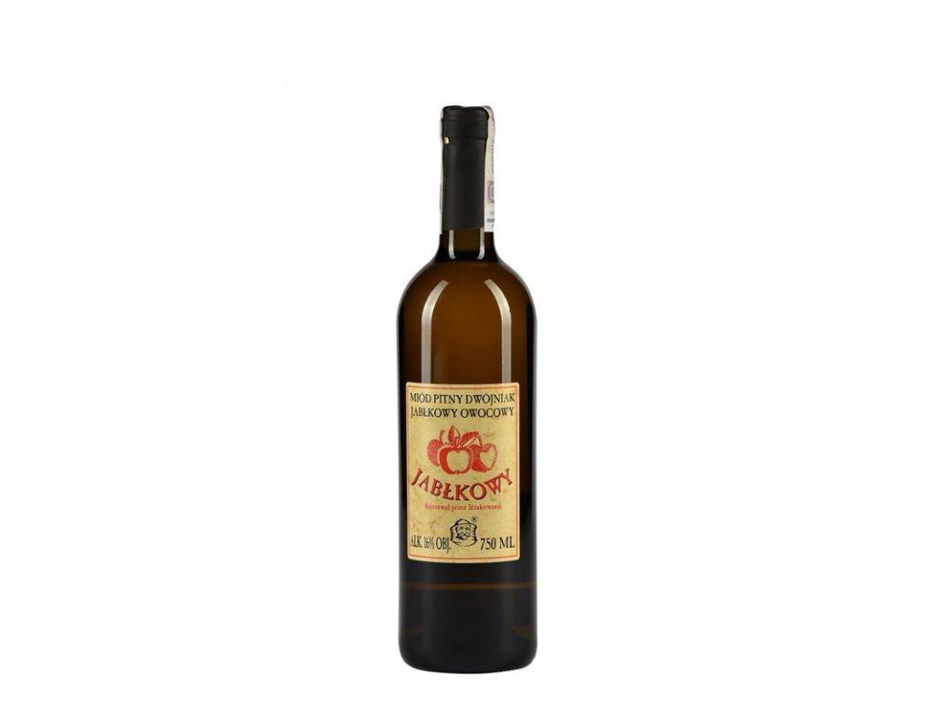 Pasieka Jaros - Miód pitny Dwójniak - Jabłkowy - 0,75 l