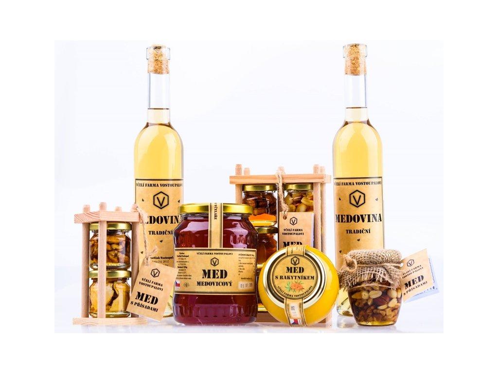 Včelí farma Vostoupalovi - Medovina tradiční - 0,50l