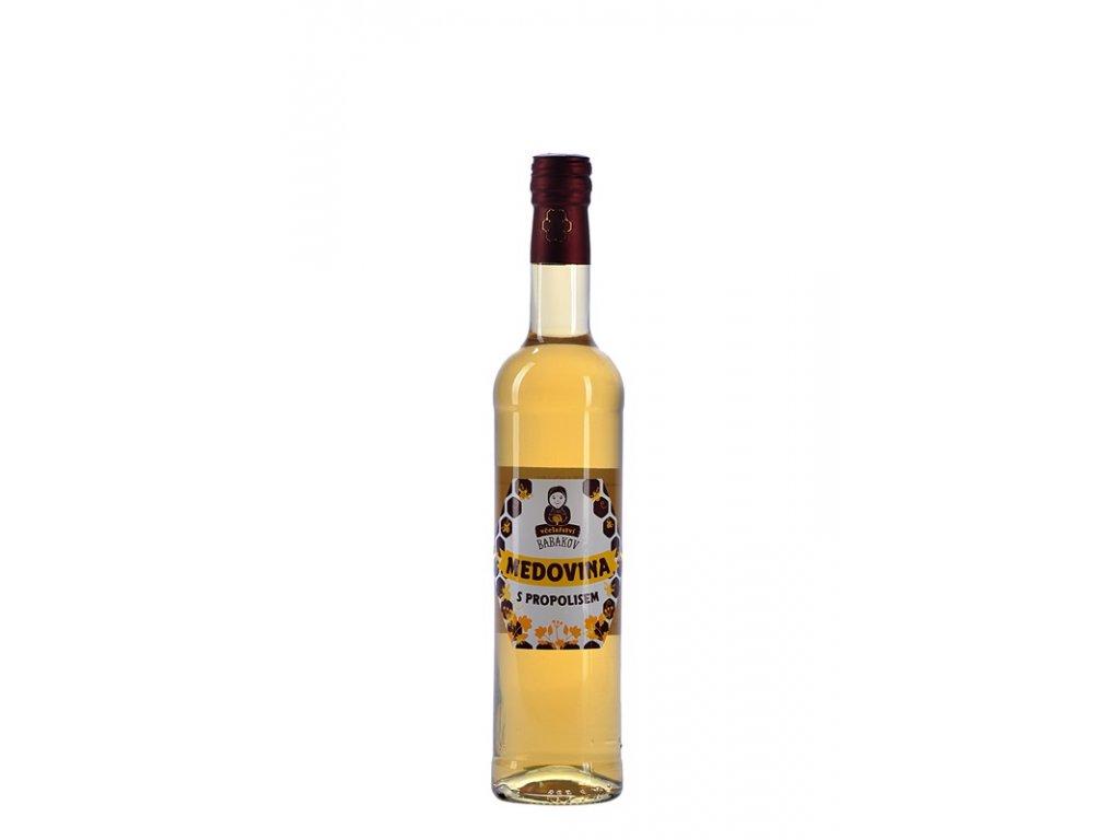 Včelařství Babákov - Medovina s propolisem - 0,5 l
