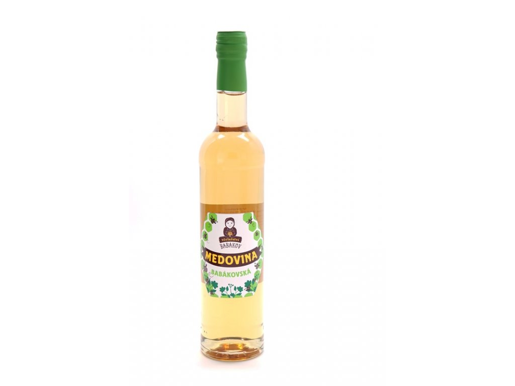 Včelařství Babákov - Medovina Babákovská - 0,5 l  sklo