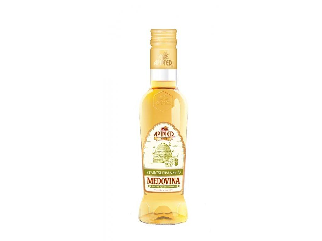 Apimed - Staroslovanská medovina - světlá z akátového medu - 0,18 l