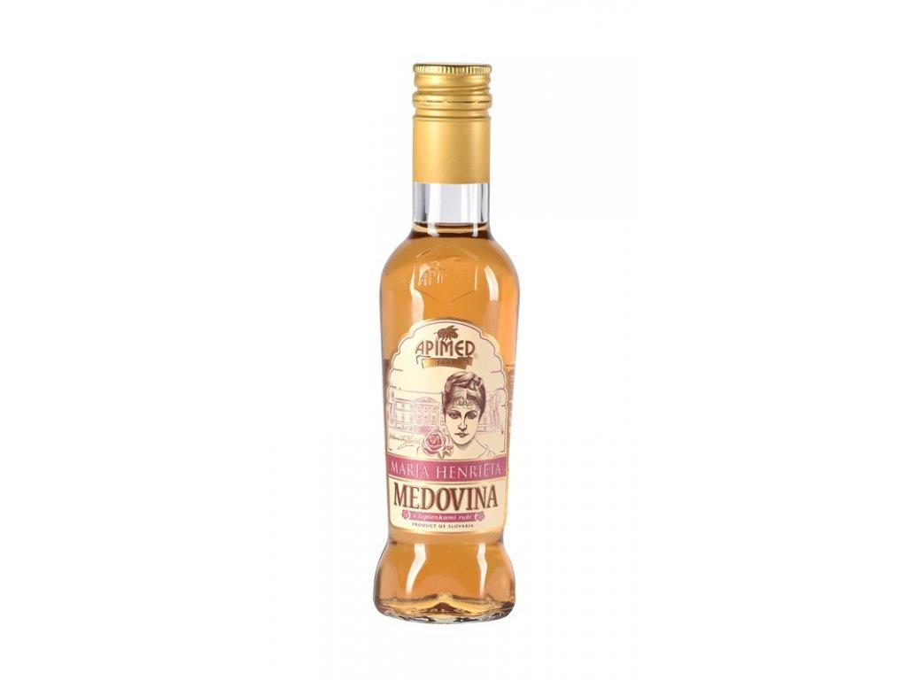 Apimed - Maria Henrieta - medovina s lupínky růží - 0,18 l