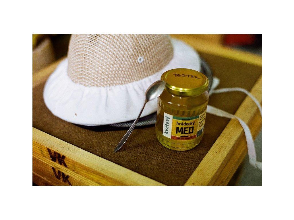 Hrádecký med - Hrádecký med květový (letní) - 0,48l