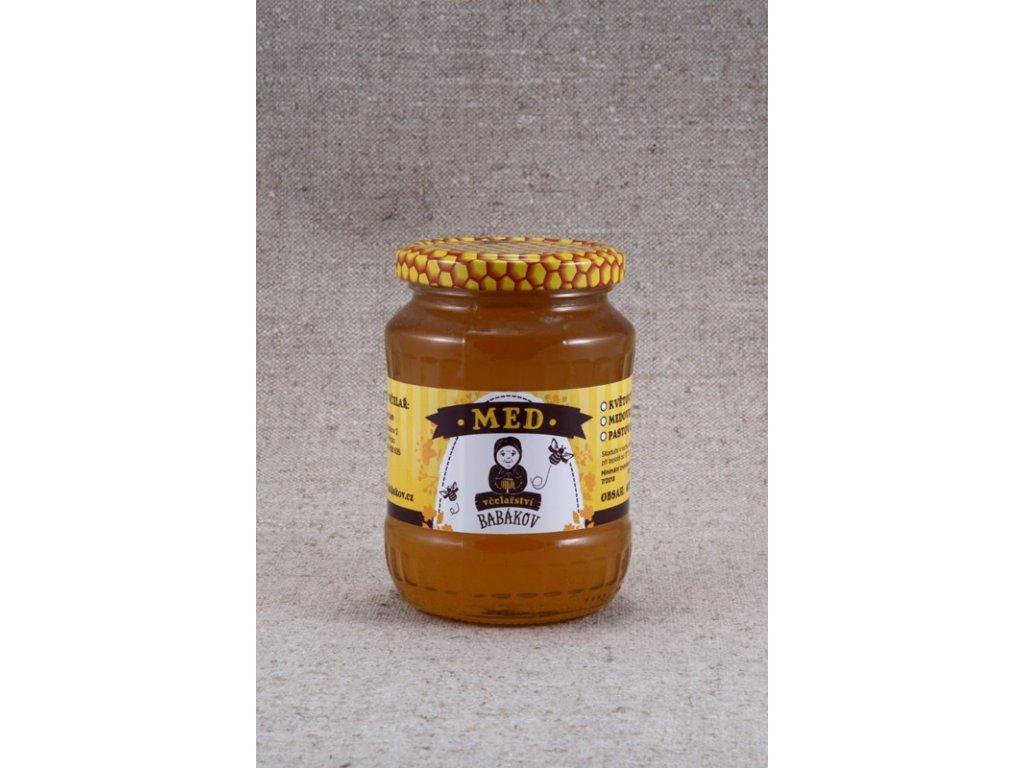 Včelařství Babákov - Med květový - 0,47 l