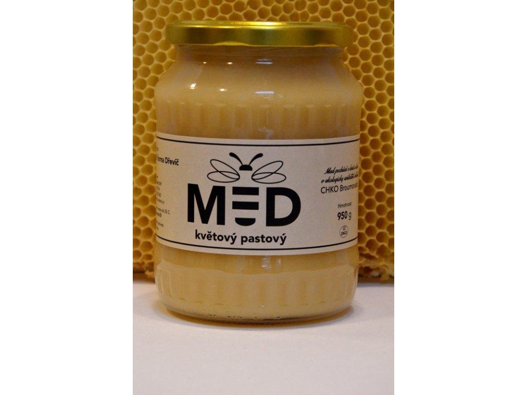 Včelí farma Dřevíč - Med květový pastový  1,00l