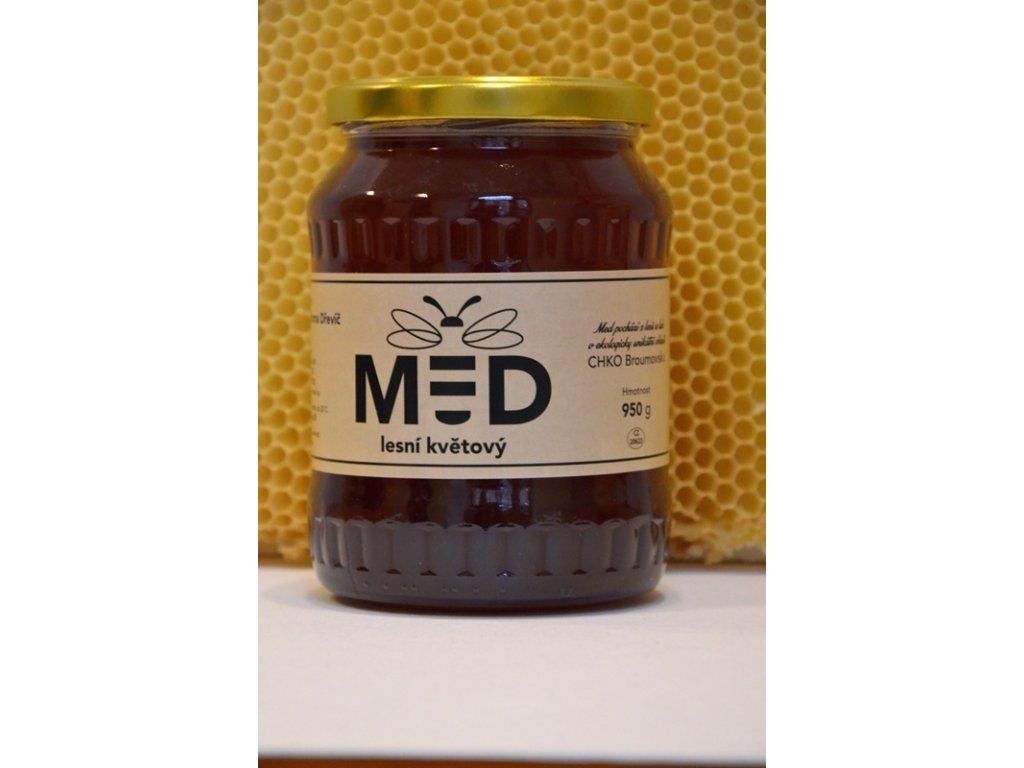 Včelí farma Dřevíč - Med lesní květový  1,00kg