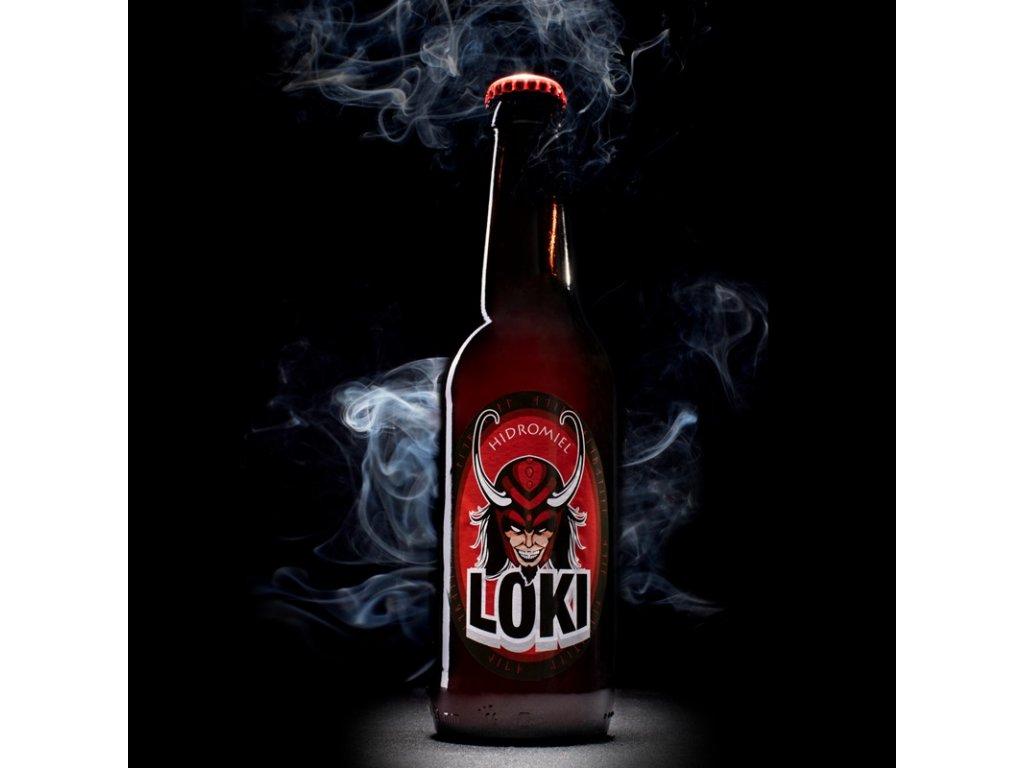 Hidromiel Odin - Medovina Loki - 0,33l  sklo
