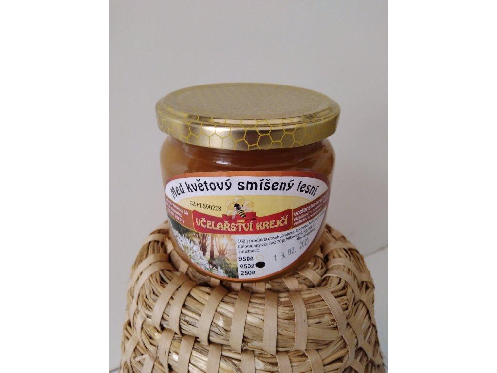 Včelařství Krejčí - Med smíšený lesní - 0,45 kg
