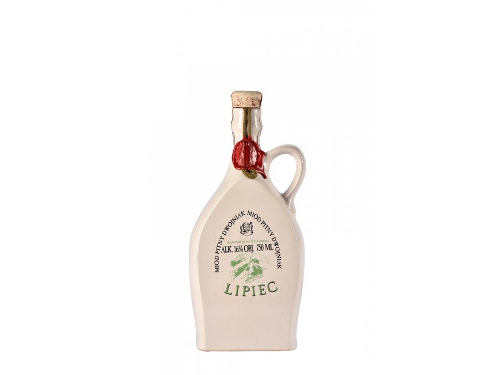Pasieka Jaros - Miód pitný Dwójniak - Lipiec - 0,75l  keramika
