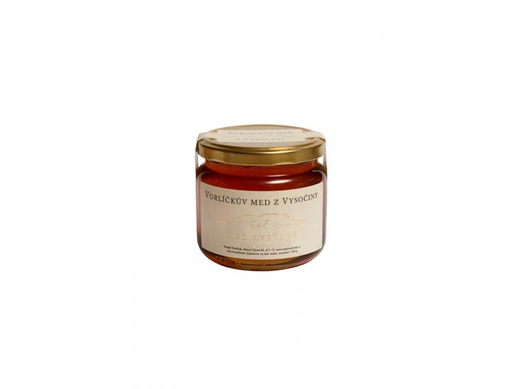 Vorlíčkovo včelařství - Med květový - 0,5 kg  sklo
