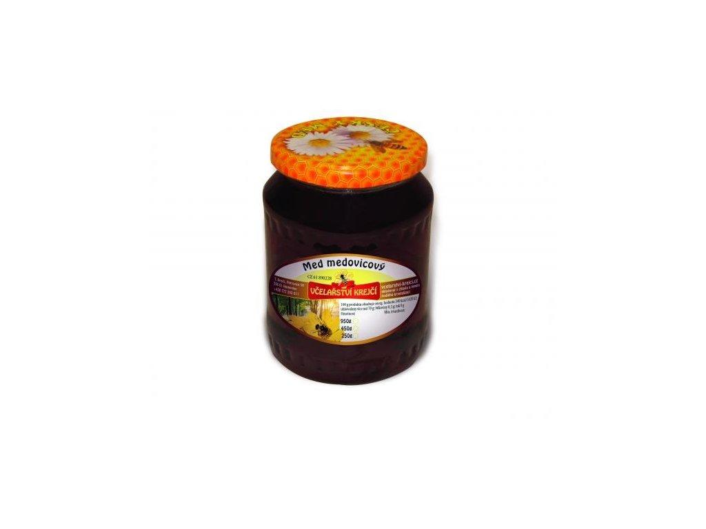 Včelařství Krejčí - Med medovicový - 0,25 kg  sklo