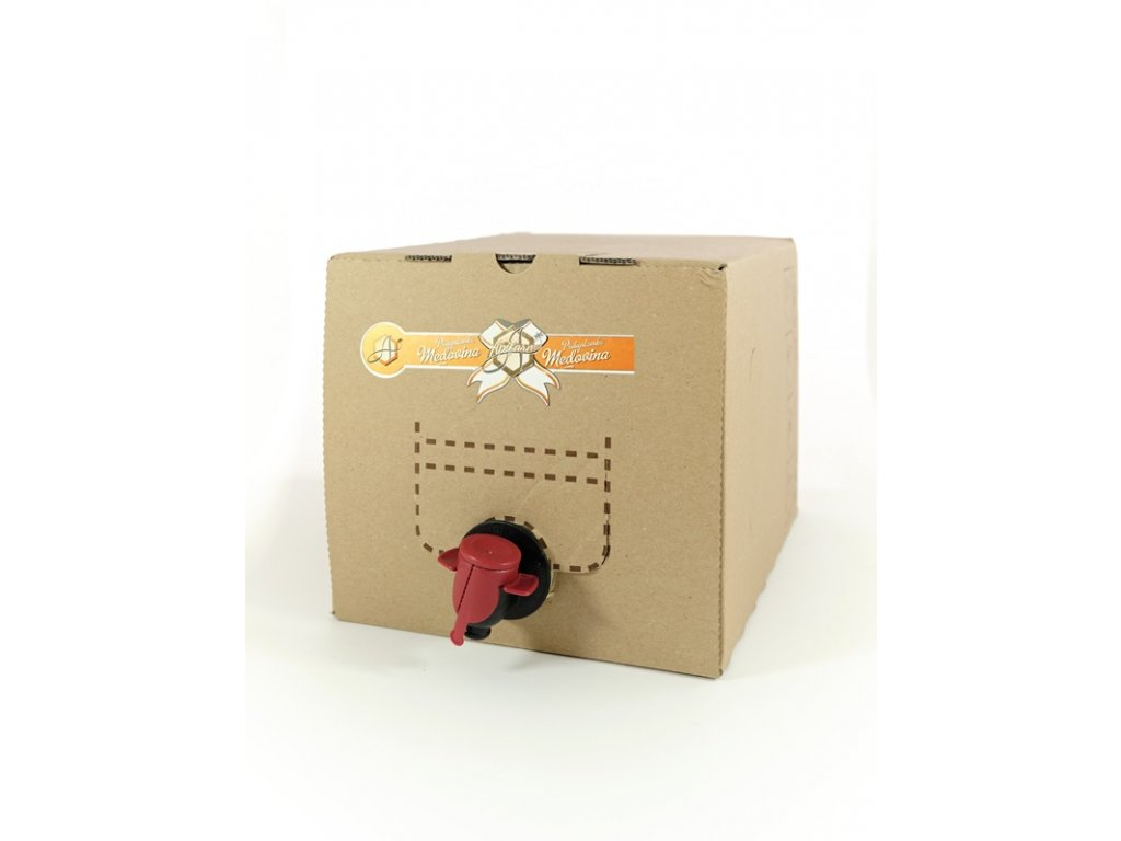 Apifarm - Přibyslavská medovina - luční - 3 l  bag in box