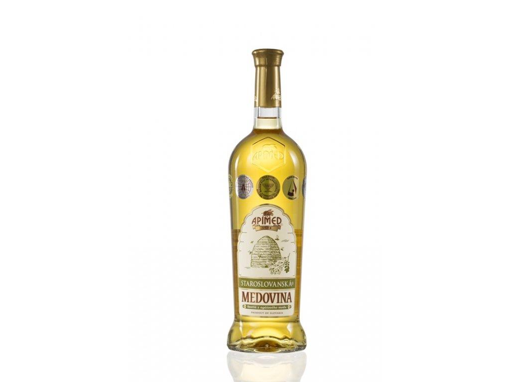 Apimed - Staroslovanská medovina - světlá z akátového medu (karton 6x 0,75l)