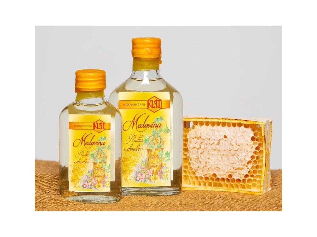 Klát - Medovina sladká s chmelem - 0,1 l  sklo
