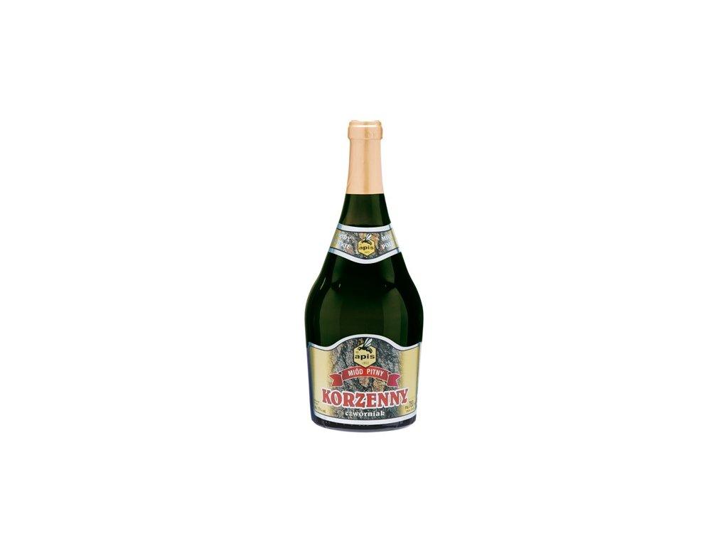 Apis - Korzenny - Miód pitny czwórniak - 0,75 l