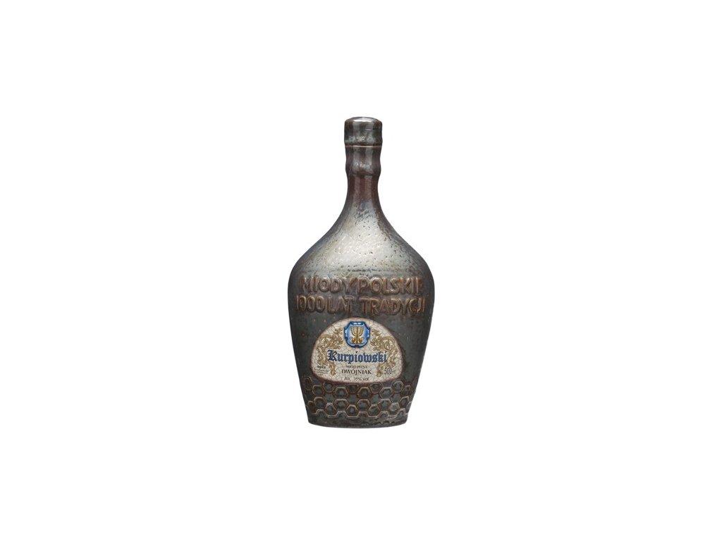 Apis - Kurpiowski - Miód pitny dwójniak - 0,5 l  keramika
