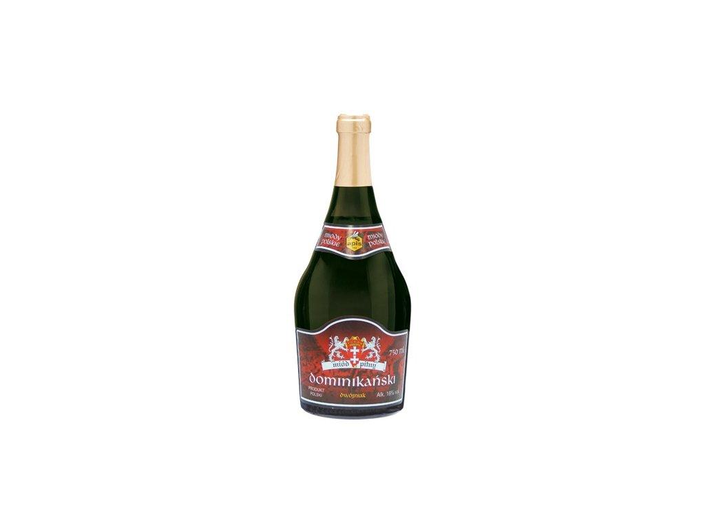 Apis - Dominikański - Miód pitny dwójniak - 0,75l  sklo