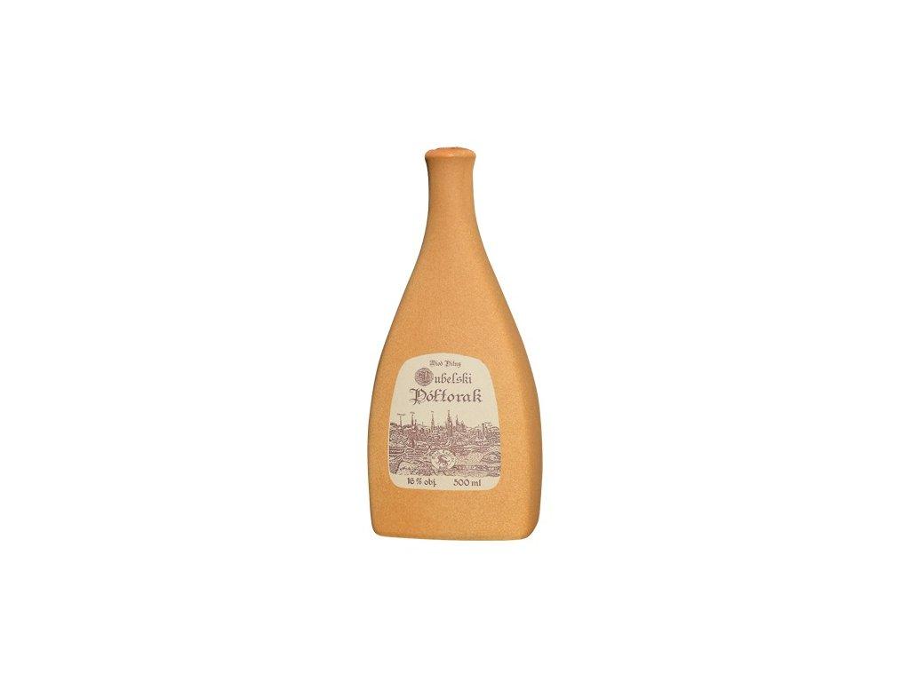 Apis - Lubelski - Miód pitny Półtorak - 0,5 l  keramika