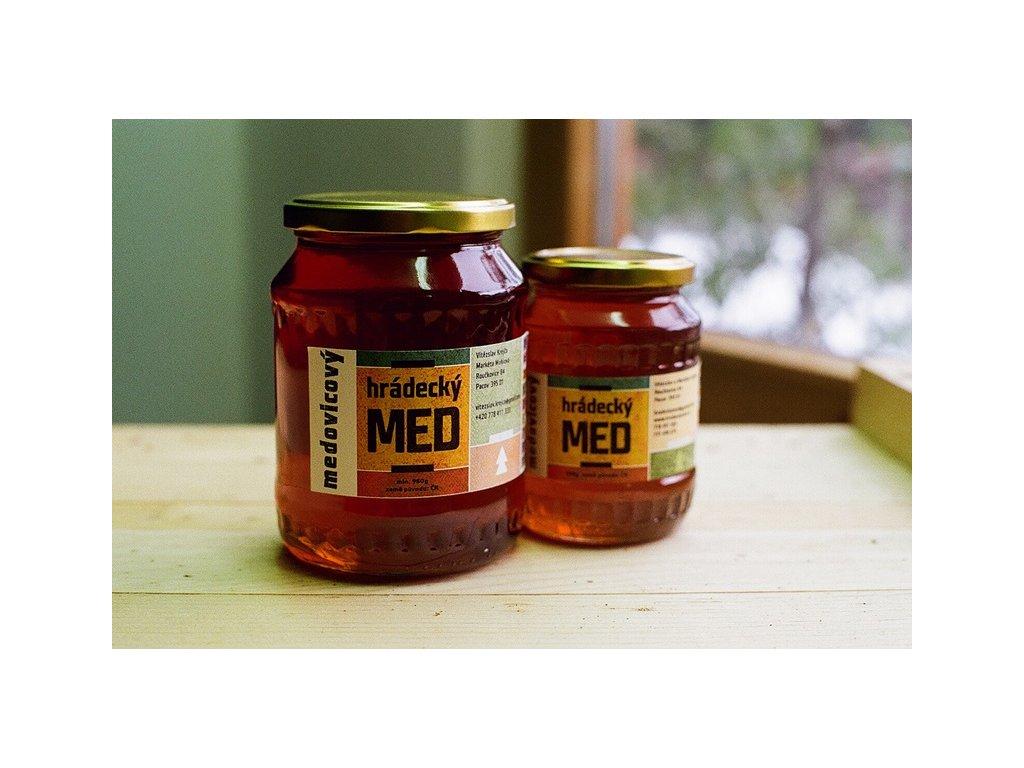 Medárna Hrádek - Hrádecký med medovicový - 0,25 kg