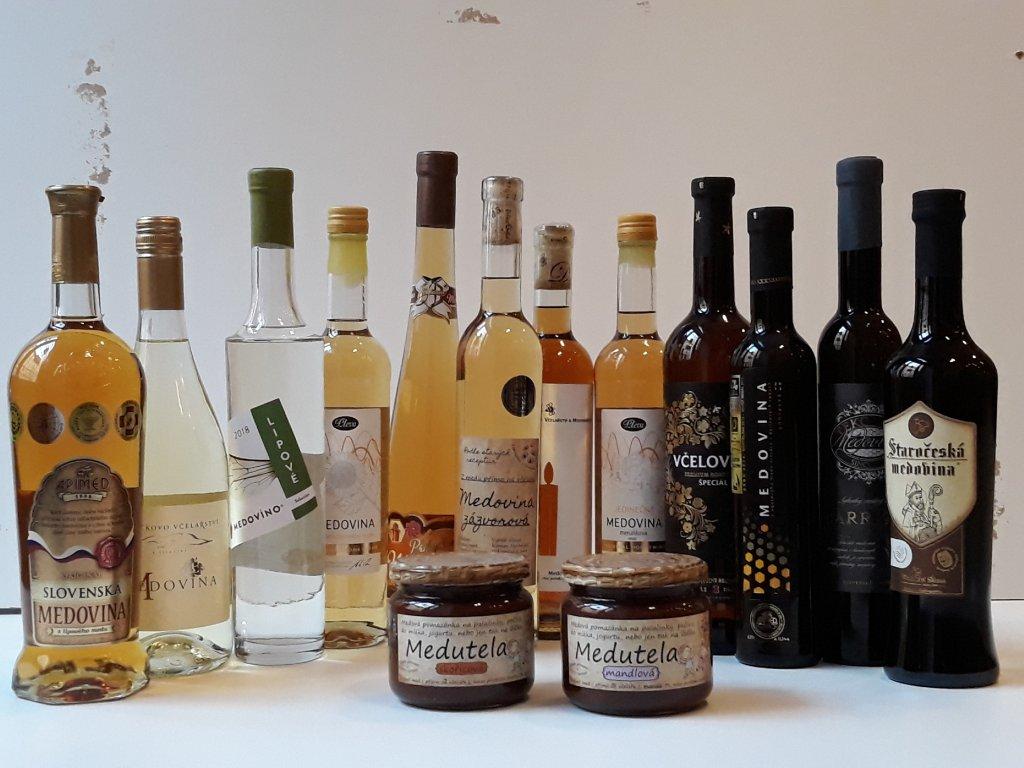 Kolekce 12 medovin - duben 2020 (+velká medutela zdarma)