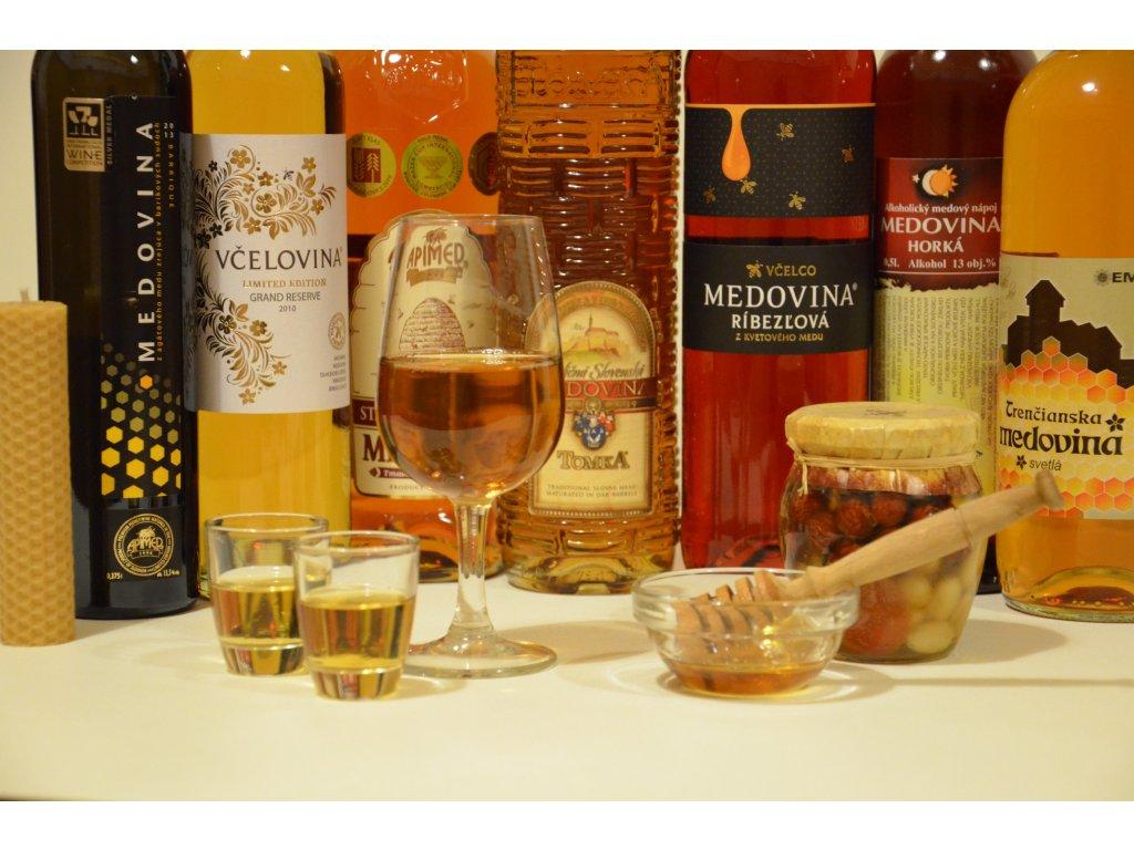 Kolekce slovenských medovin (malá, 6ks)