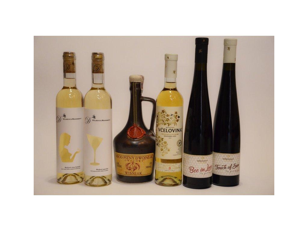 Kolekce podzimních medovinových specialit