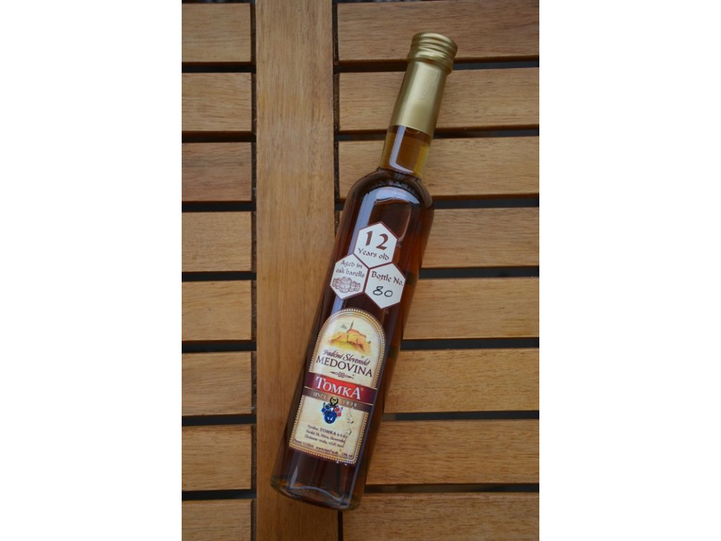 Tomka - Tradičná slovenská medovina 2008 - 0,35 l  sklo