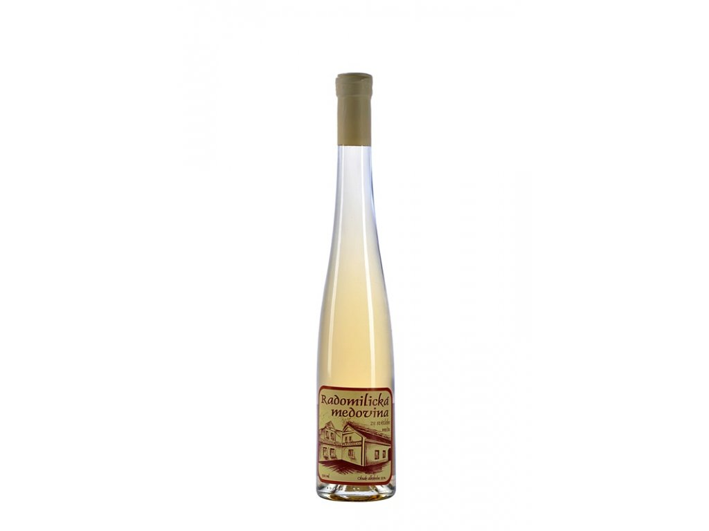 Radomilická medovina - Radomilická medovina ze světlého medu (karton 6 x 0,5l)  sklo