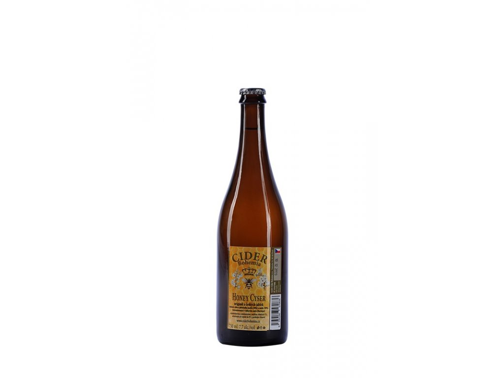 Cider Bohemia - Honey cyser (barrique) (karton 8x 0,75l)  sklo